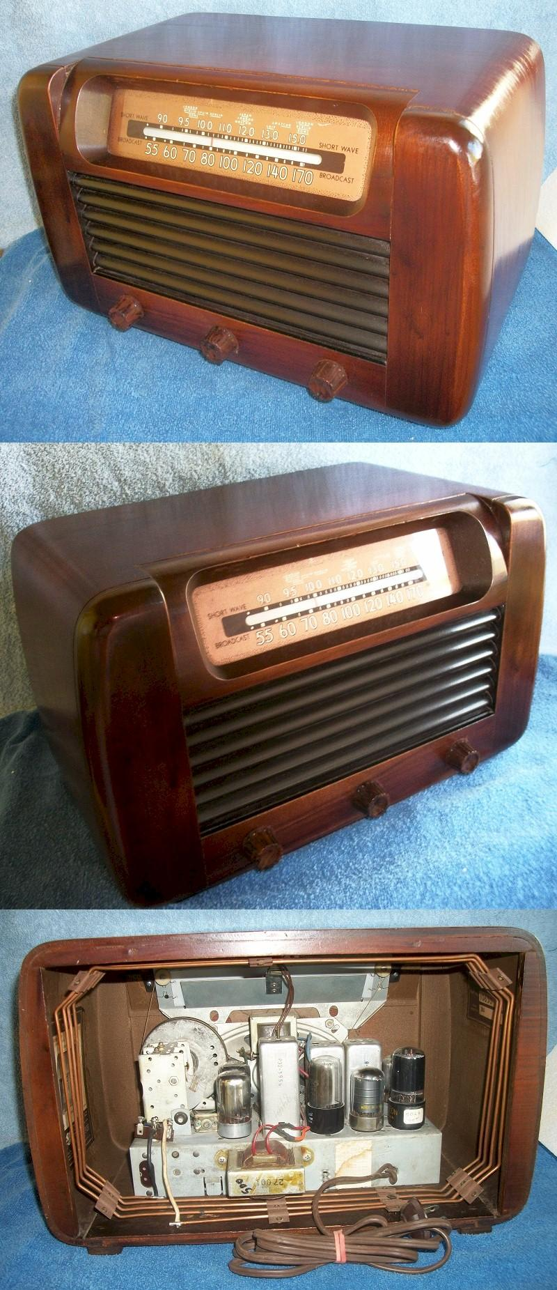 Philco 46-427 AM-Shortwave (1946)