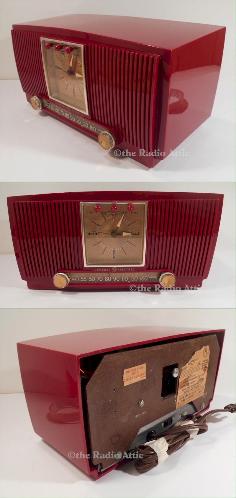 General Electric 574 Clock/Radio (1954)