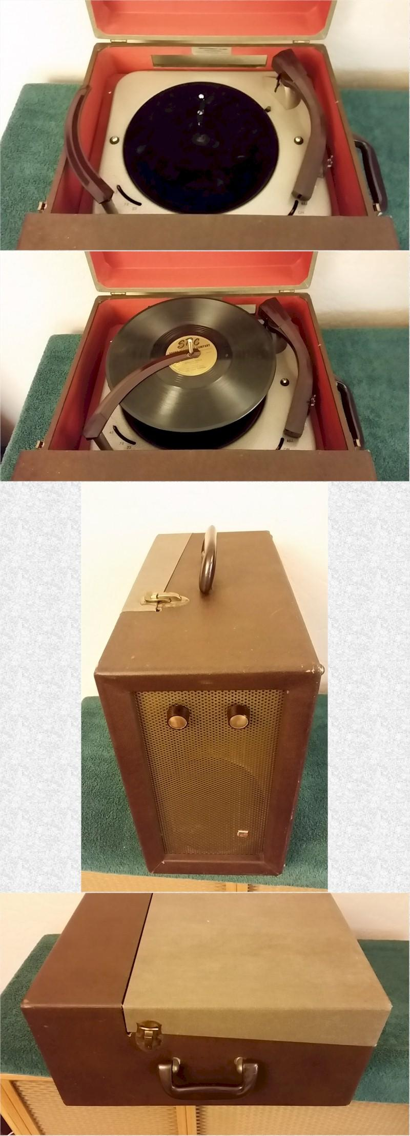 Airline 35-GDC-998B Portable Phonograph (1954)