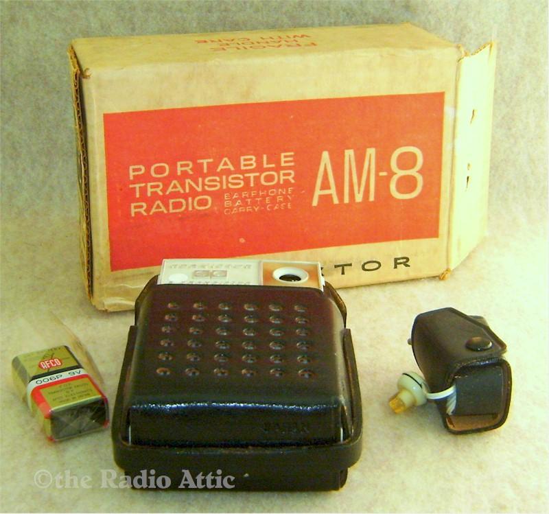 RCA AM-8 Pocket Transistor