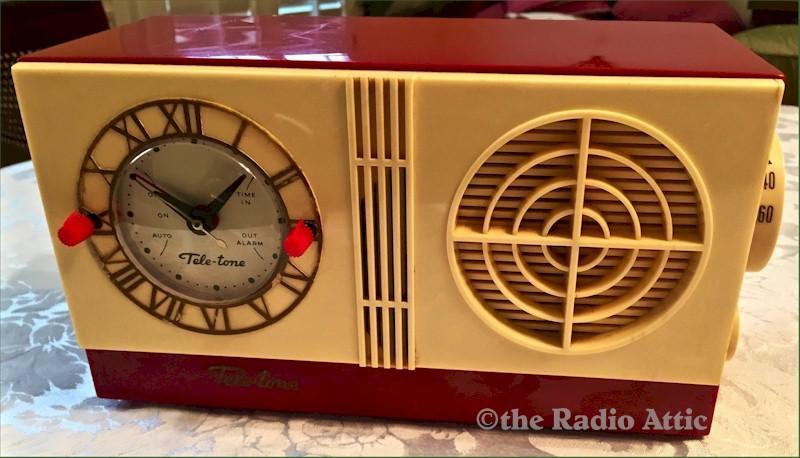 Tele-Tone Clock Radio (1954)