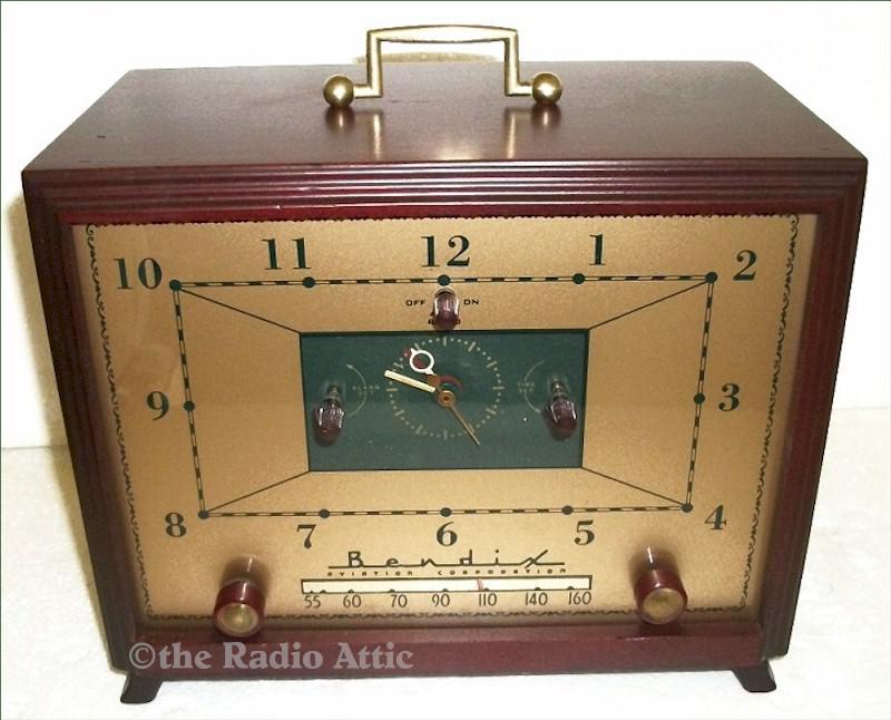 Bendix 753MX Clock Radio (1953)