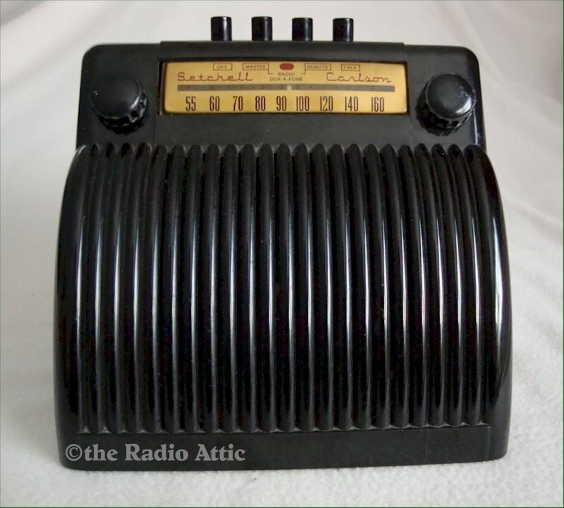 "Setchell-Carlson ""Cash Register"" Radio"