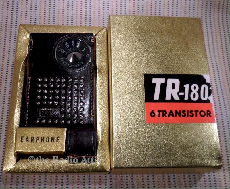TR-180 Transistor with Box