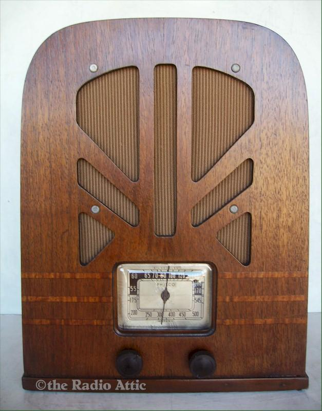Philco 38-35 Tombstone