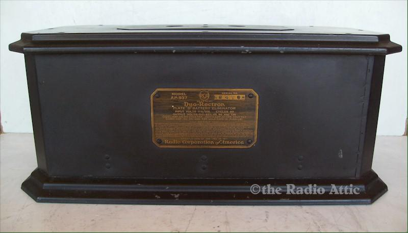 "RCA AP-937 ""B"" Battery Eliminator"