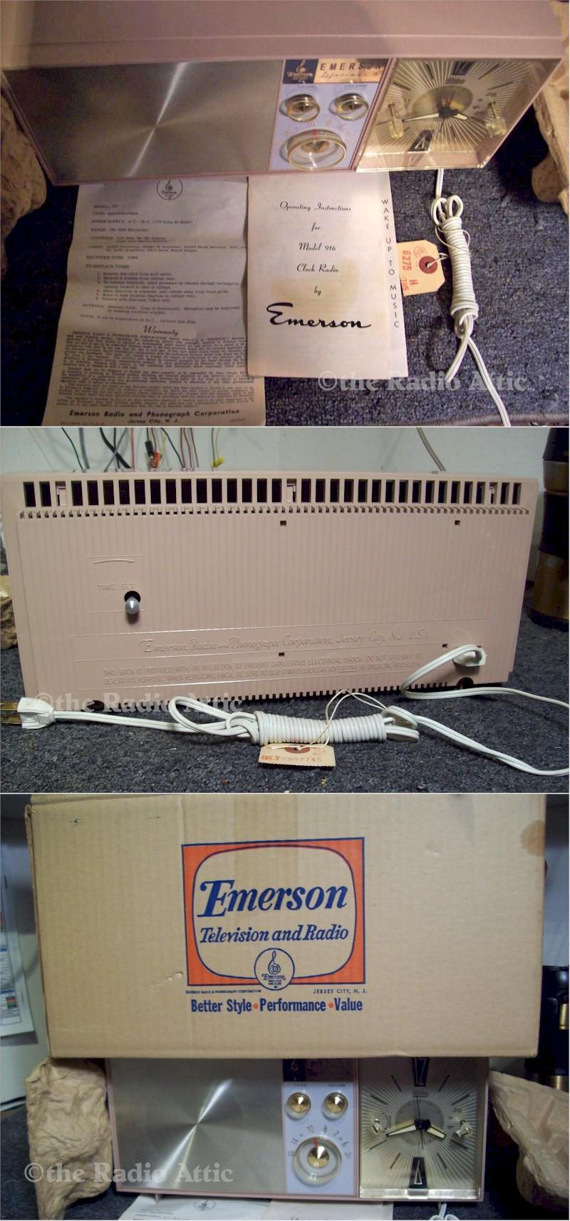 Emerson G1705 Clock Radio
