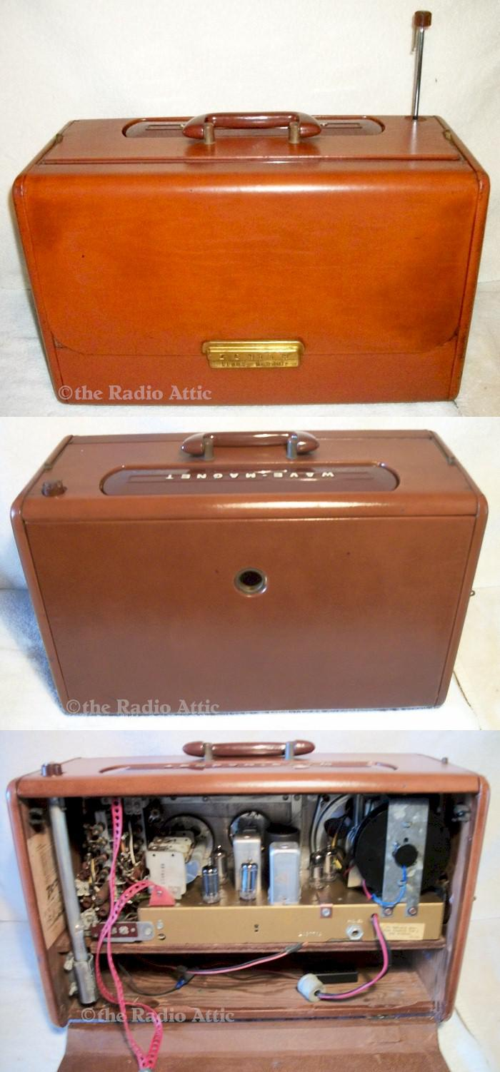 Zenith L600 Leather Trans-Oceanic (1955)