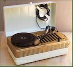 Silvertone 8148 Portable Phonograph (1948)