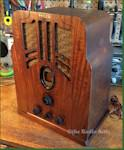 Philco 610 Tombstone
