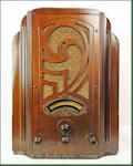 """Stewart-Warner R-1261 """"York"""" Tombstone (1933)"""