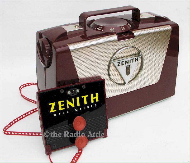 Zenith L505 Portable with Wave-Magnet (1953)