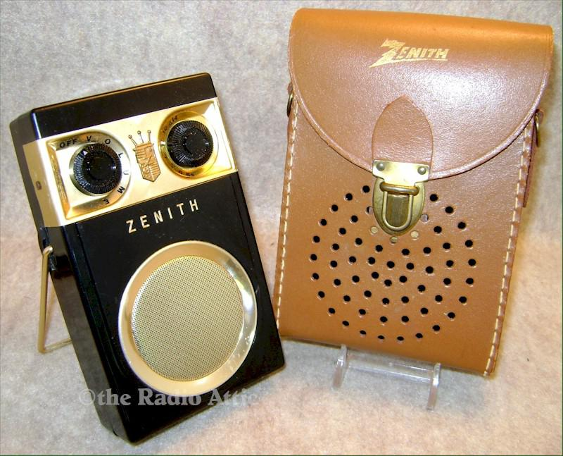 Zenith Royal 500 w/Case (1957)