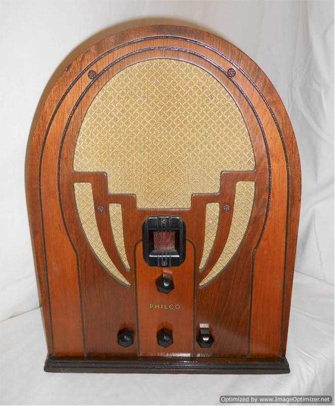 Philco 60B Cathedral, Early Version (1936)