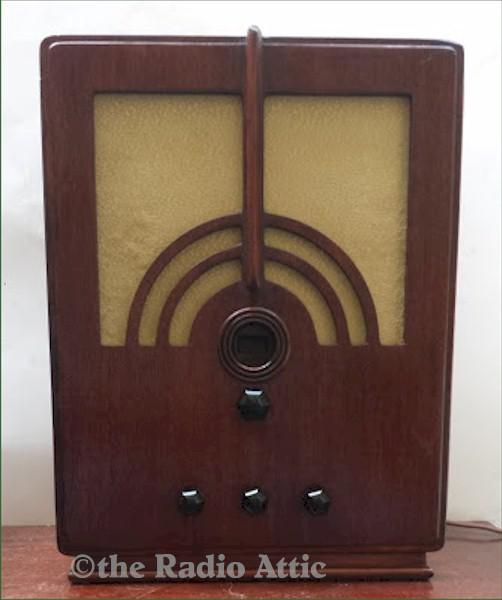 Philco 66 Tombstone (1934)