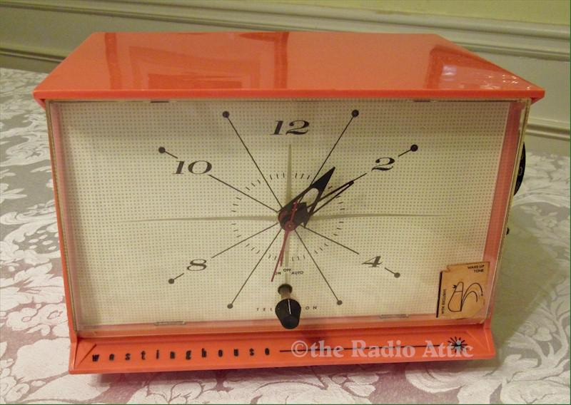 Westinghouse H-678T4 Clock Radio (1959)