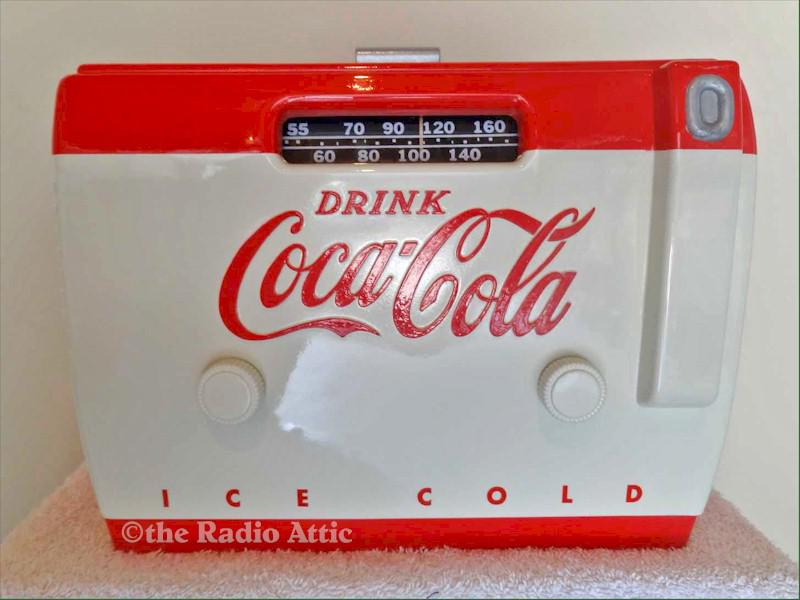 Coca-Cola Cooler Radio 5A410A (1949)