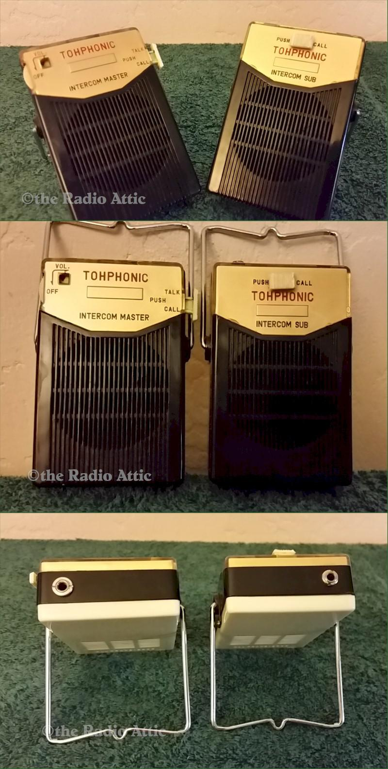 TohPhonic HP-2T Intercoms (1962)