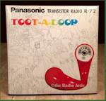 "Panasonic R-72 ""Toot-A-Loop"""