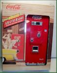 Coca-Cola %26#39;55 Style Vending Machine Radio