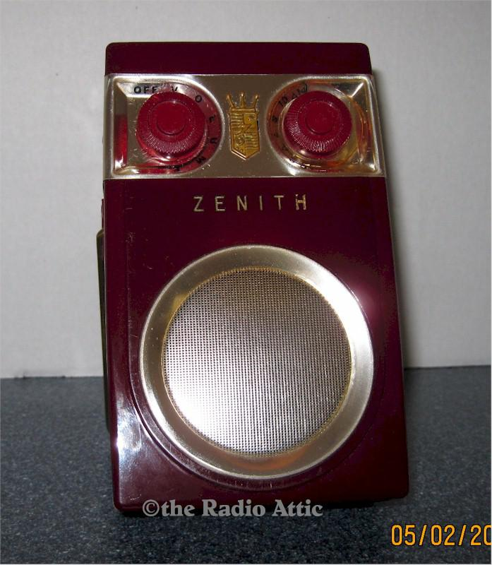 "Zenith Royal 500B ""Owl Eye"" Transistor (1956)"