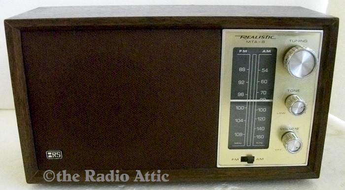 Realistic MTA-8 AM/FM (1978)