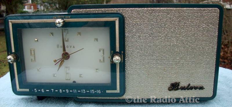 Bulova 100 Clock Radio