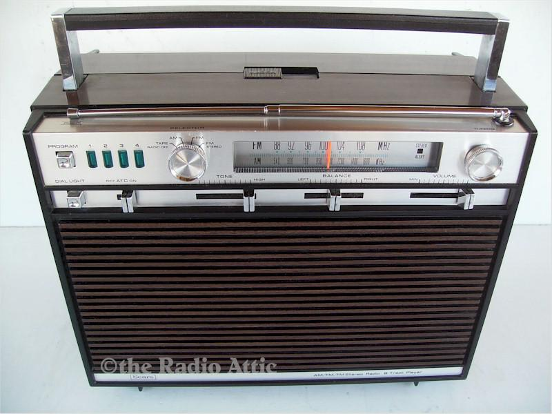 Sears 250-21300200 AM/FM 8-Track Player