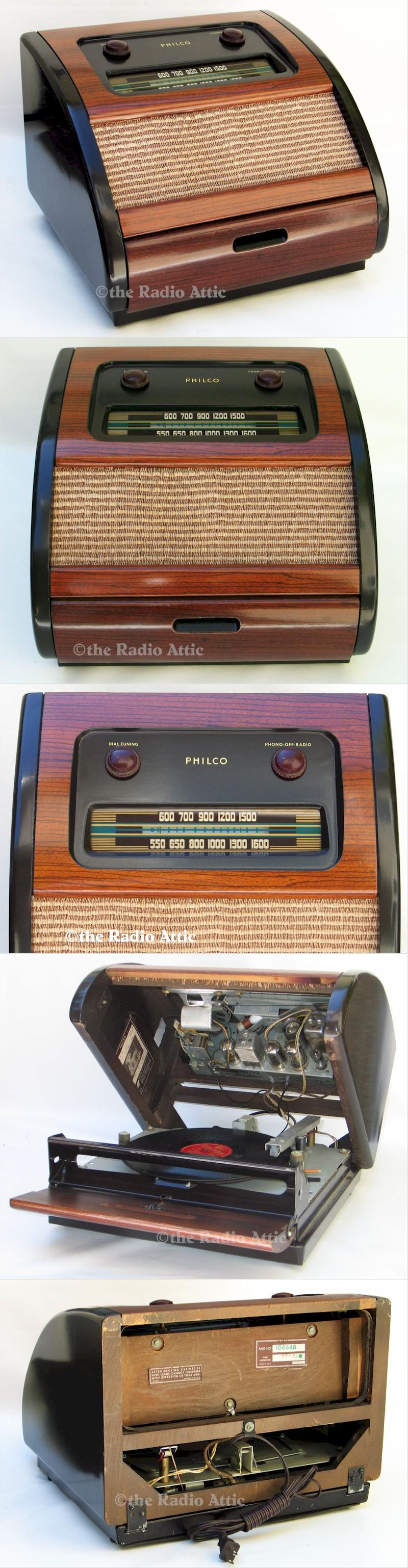 "Philco 46-1201 ""Bing Crosby"" Radio-Phono"