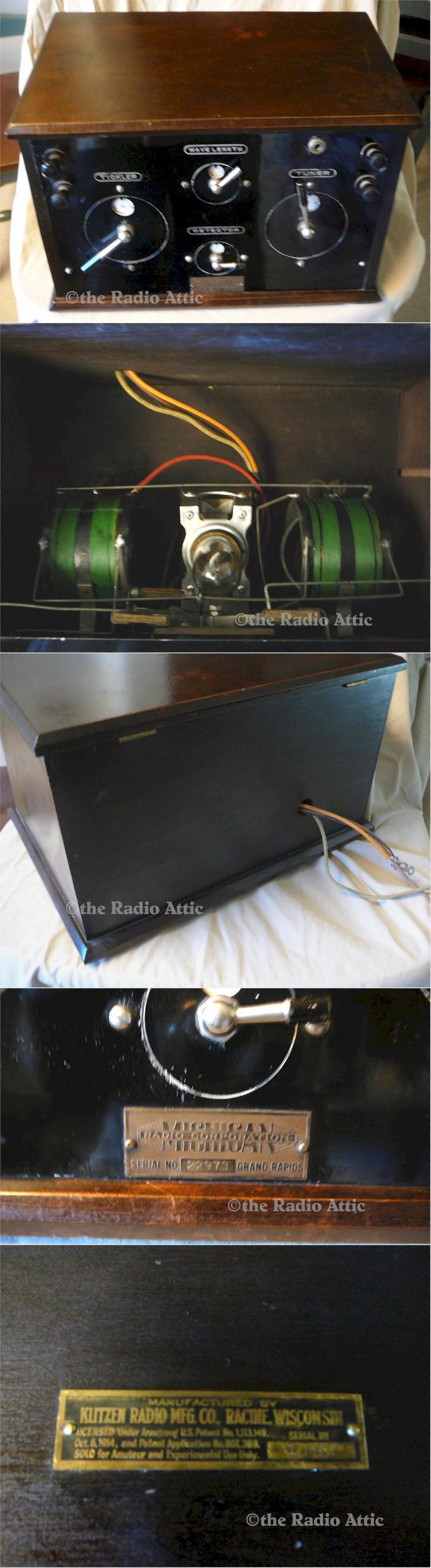 Michigan M-10 DC Radio (1923) - SOLD! - item number 1400083
