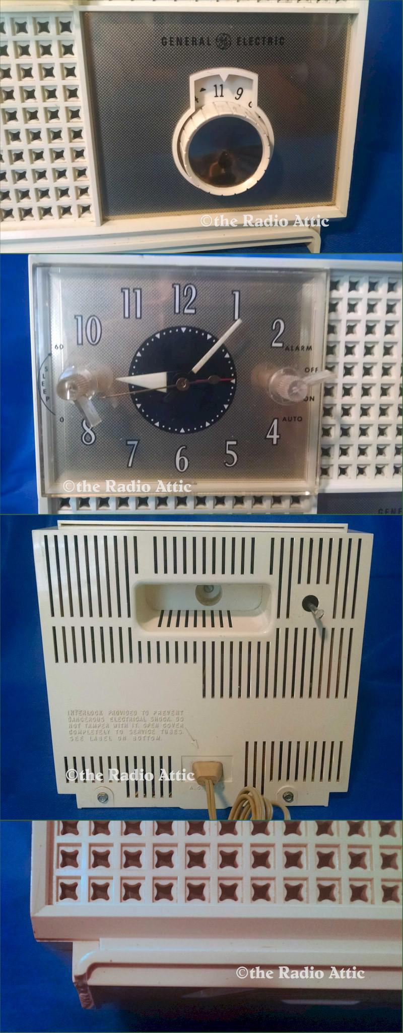 General Electric C485A Clock Radio