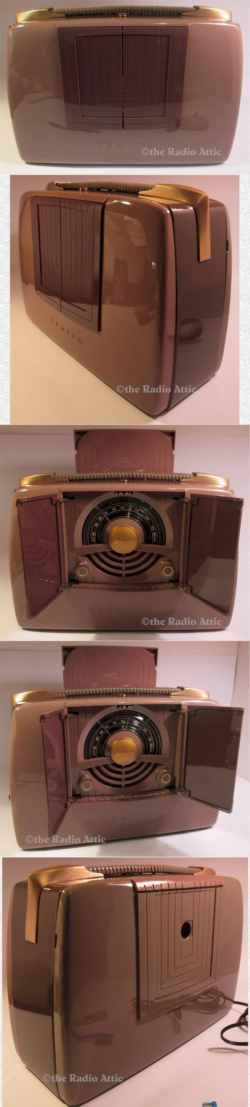 "Zenith 6G801 ""Pop-Open"" (1948)"