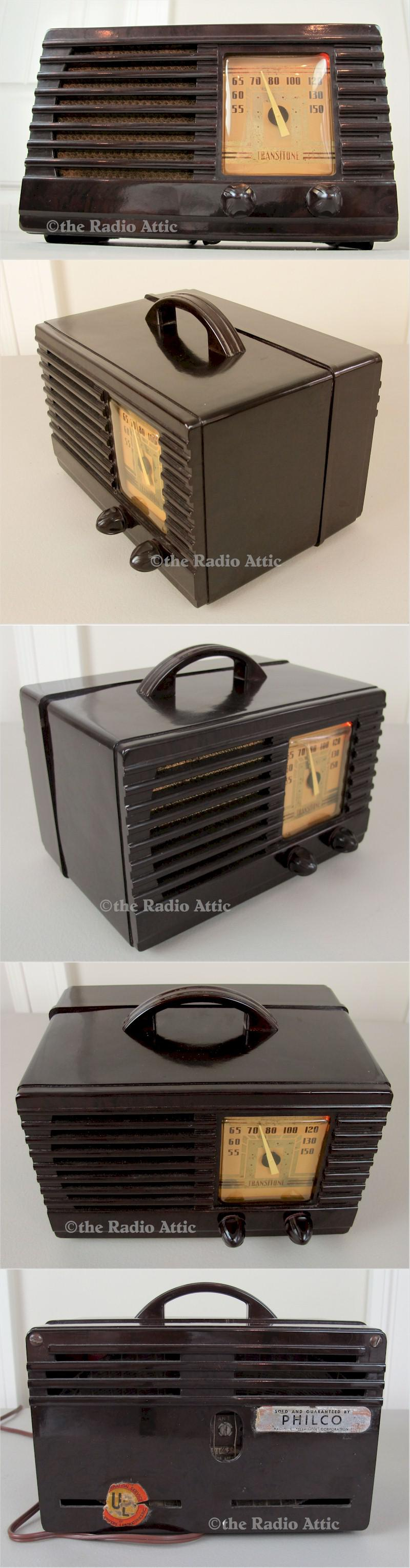 Philco TH-16 Transitone (1940)