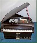 General Television Piano Radio (1940s)
