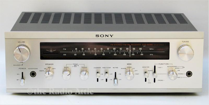 Sony STR-6065 AM/FM Stereo Receiver (1971-74)