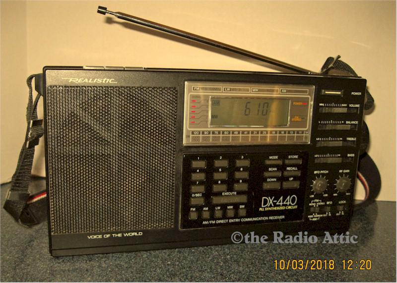 Realistic DX-440 Multiband Portable (1988/89)