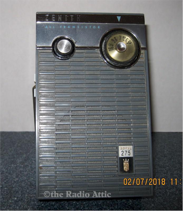 Zenith Royal 275 AM Transistor (1959-60)