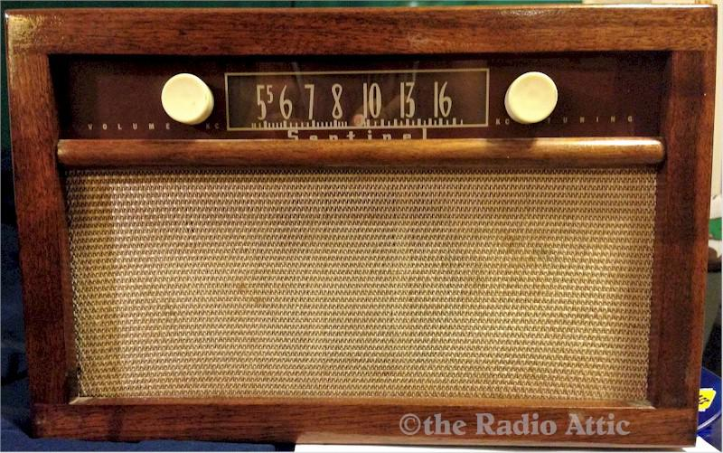 Sentinel 289-T DC Radio