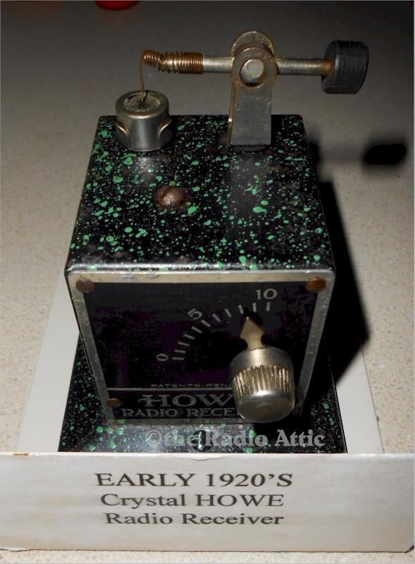 Howe Crystal Radio Receiver (1924)