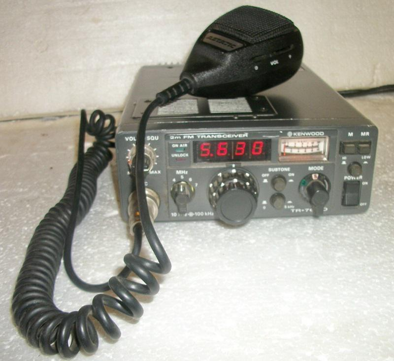 Kenwood TR-7600 Two-Meter Transceiver/ Astatic 575-M6 Microphone