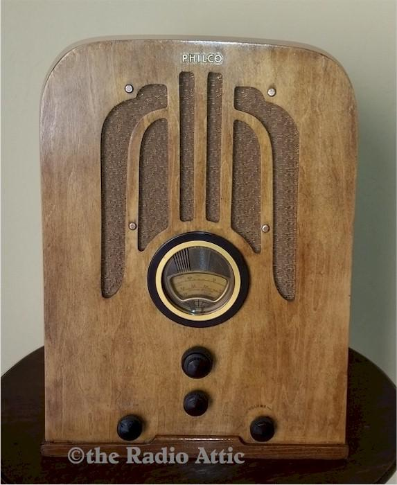Philco 37-620 Tombstone