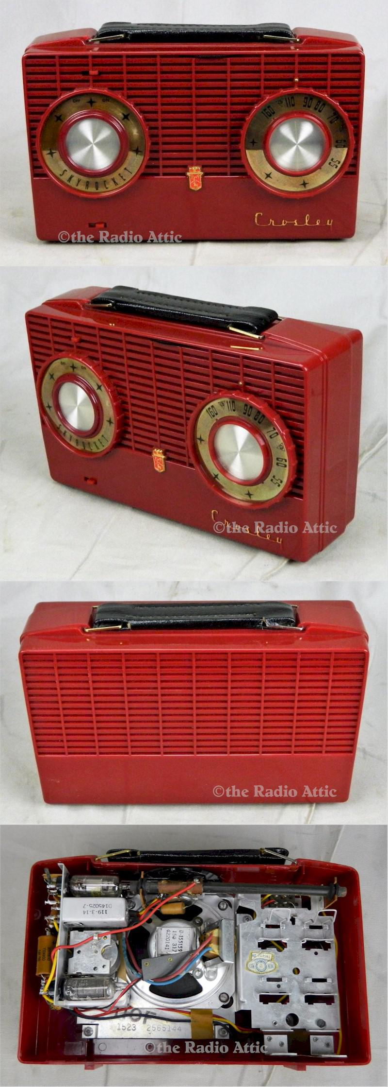 Crosley F-110RD Portable (1953)