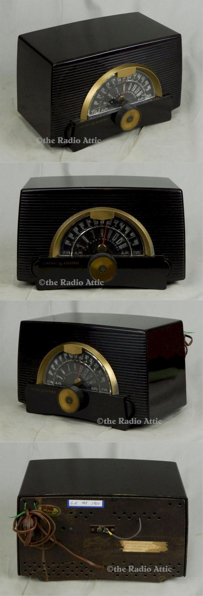 General Electric 408 AM/FM (1950)