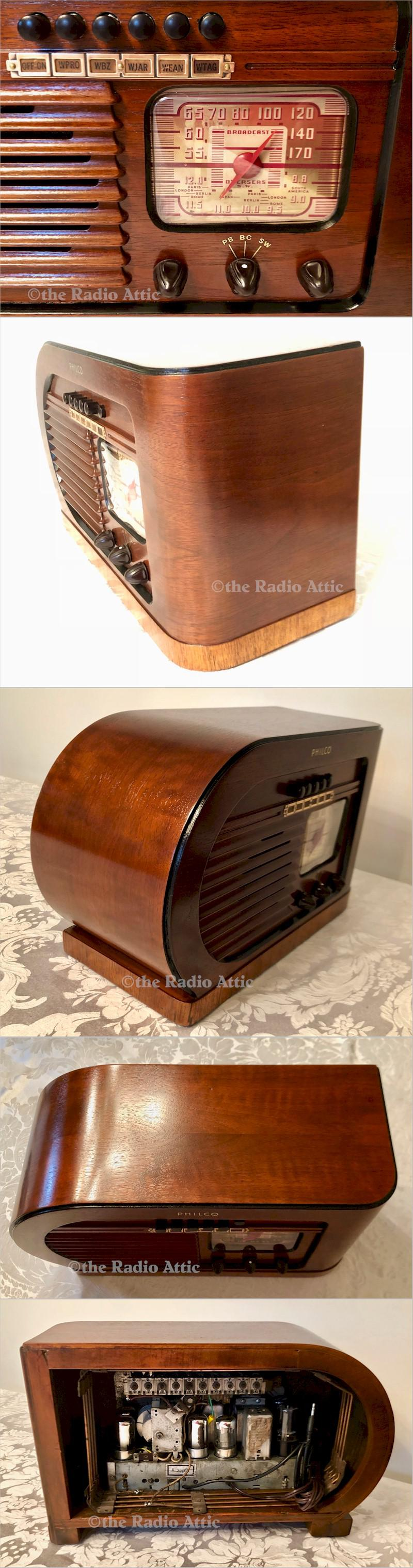 "Philco 41-231T ""Little Bullet"" (1940)"