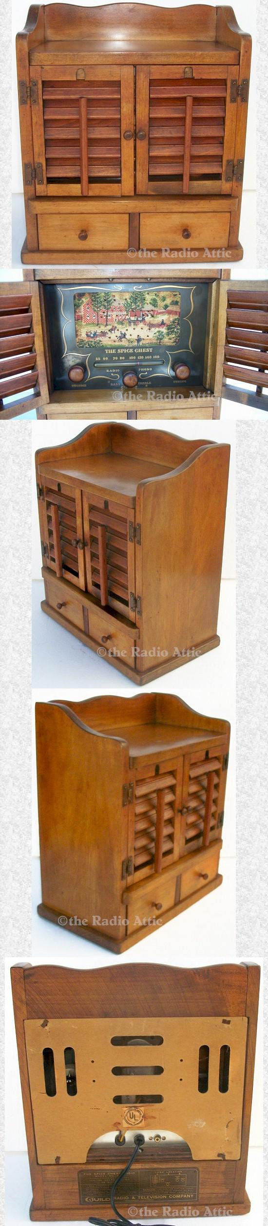 Guild 484 Spice Chest (1956)