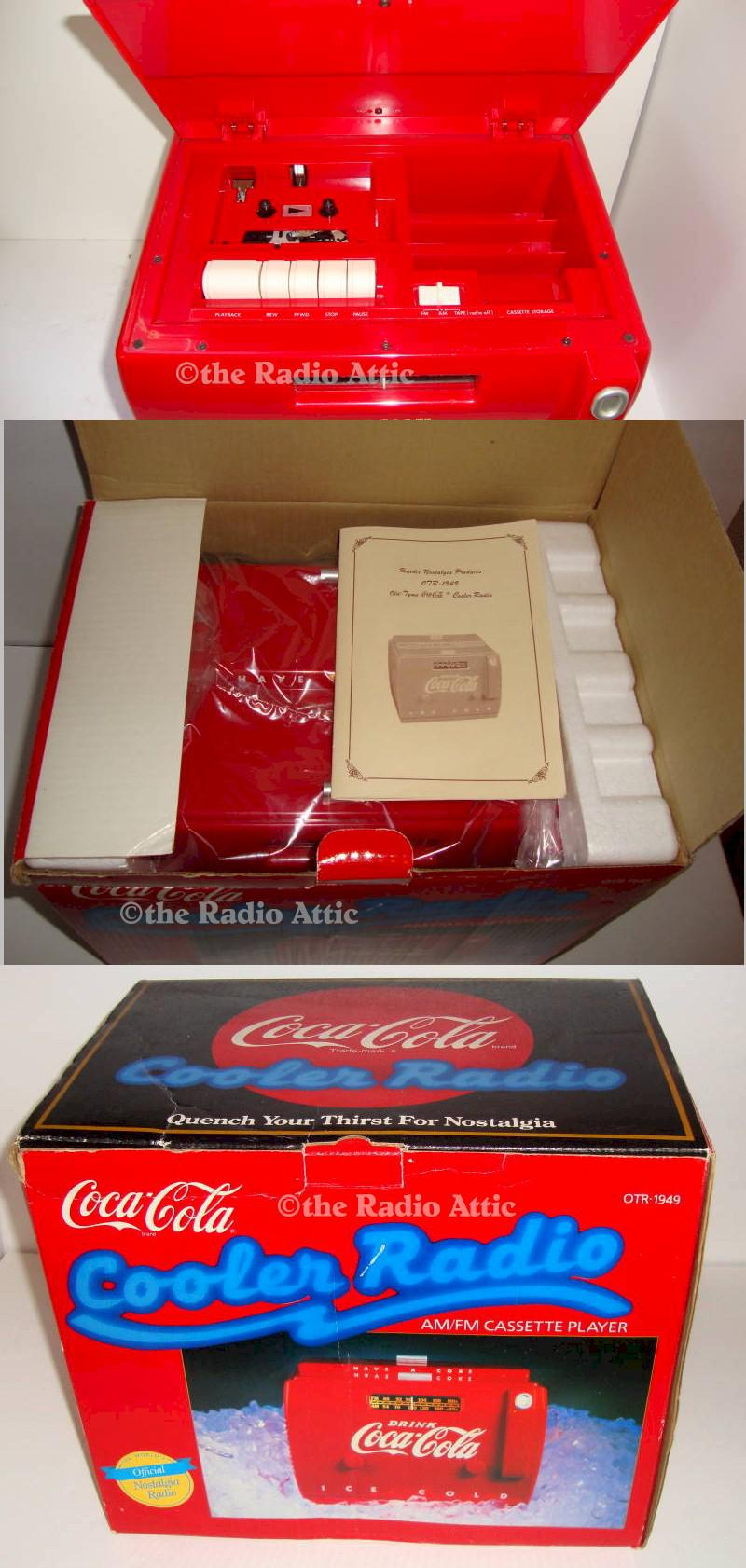 Coca-Cola Cooler Radio