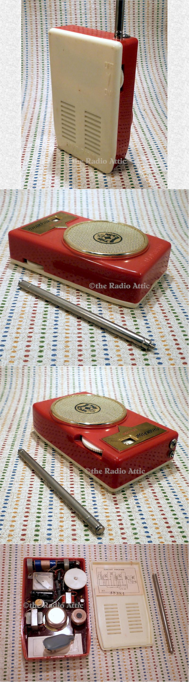 Champion Deluxe Boy's Radio