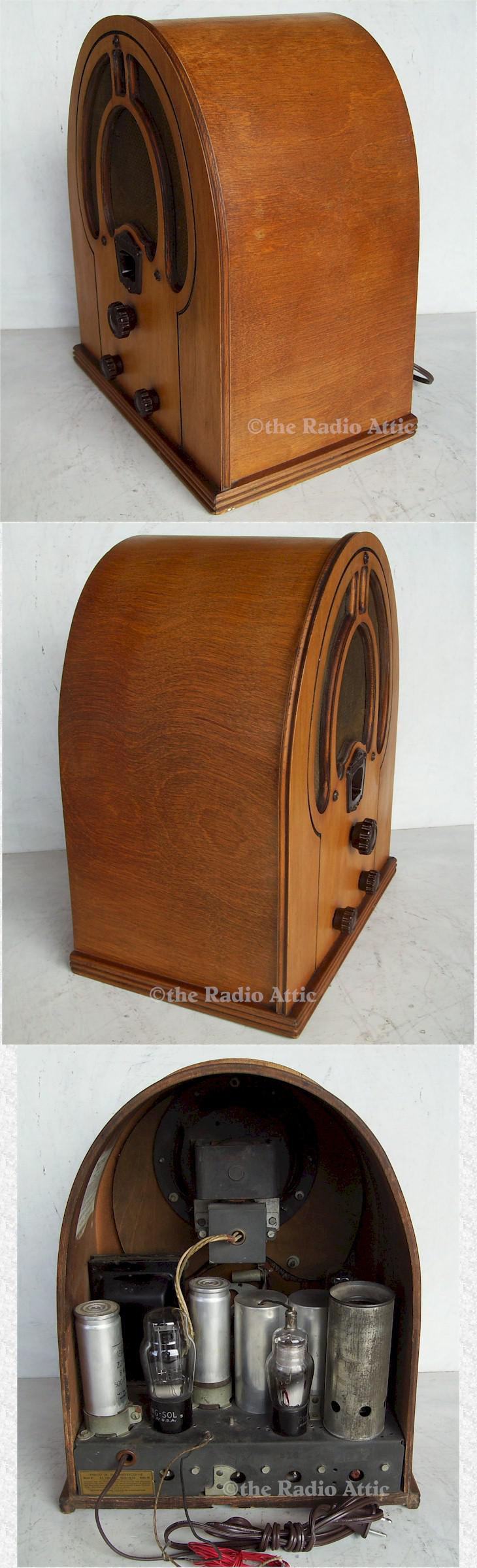 Philco 81 Jr. Cathedral