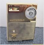 Motorola X21W Midget Pocket Radio (1960)