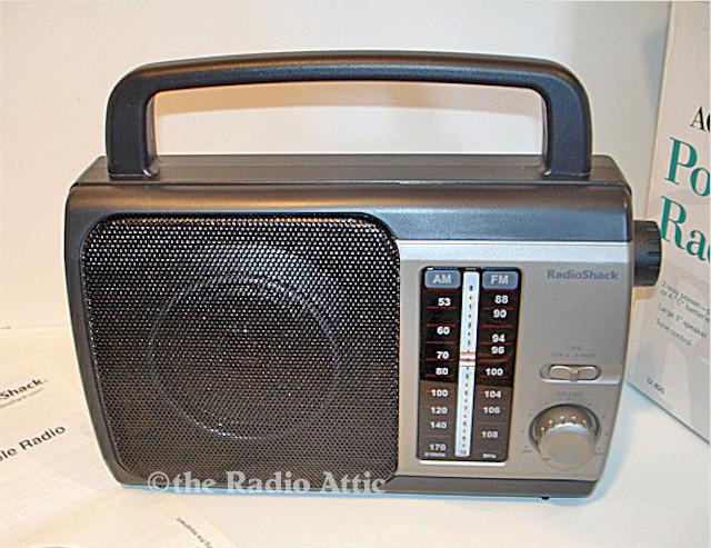 Radio Shack AM/FM Portable
